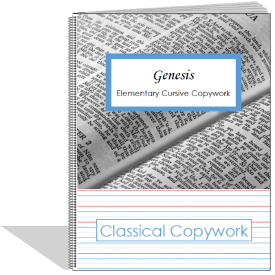 Genesis Elementary Cursive - front cover image