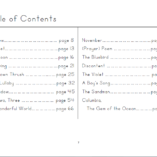poetry-for-kids-elementary-table-of-contents