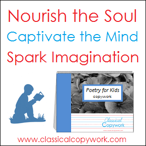 Nourish the Soul with Poetry for Kids Copywork